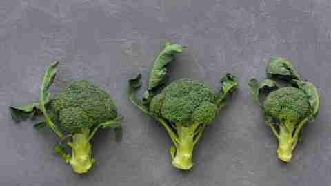 Broccoli, a food with omega-3