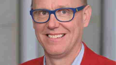 Johan Wiklund, a researcher who explores the positives of ADHD