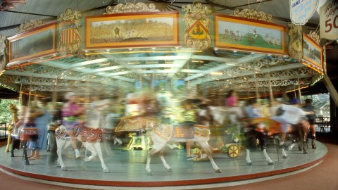 What is ADHD like? A carousel spinning out of control.