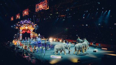 Image of a circus, a metaphor for parenting ADHD kids as an ADHD mom.