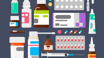 Pictures of different kinds of ADHD medications, illustrating an ADHD medication chart