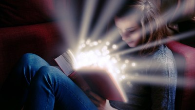 A tween reads a book off a list of ADHD books for kids, and magic spills out.