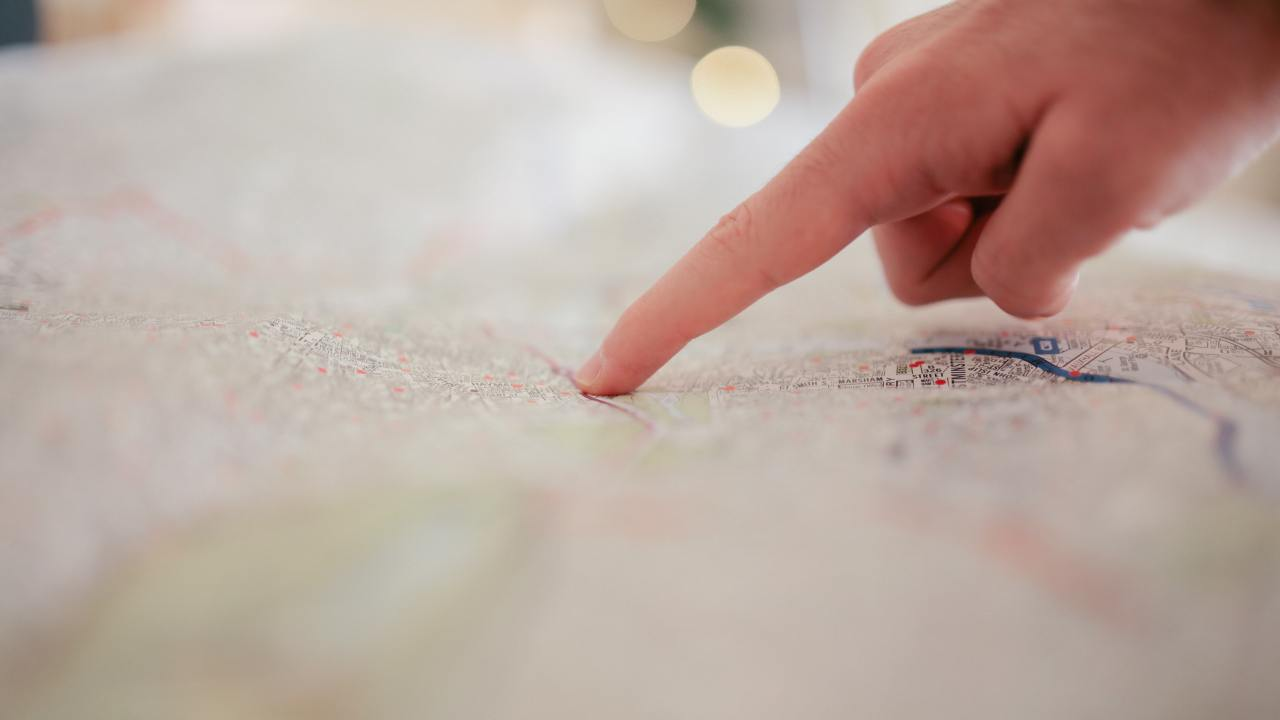 Reading a map with nonverbal learning disorder