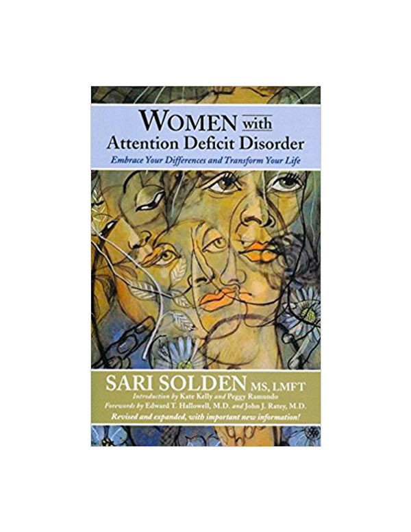 women with add book