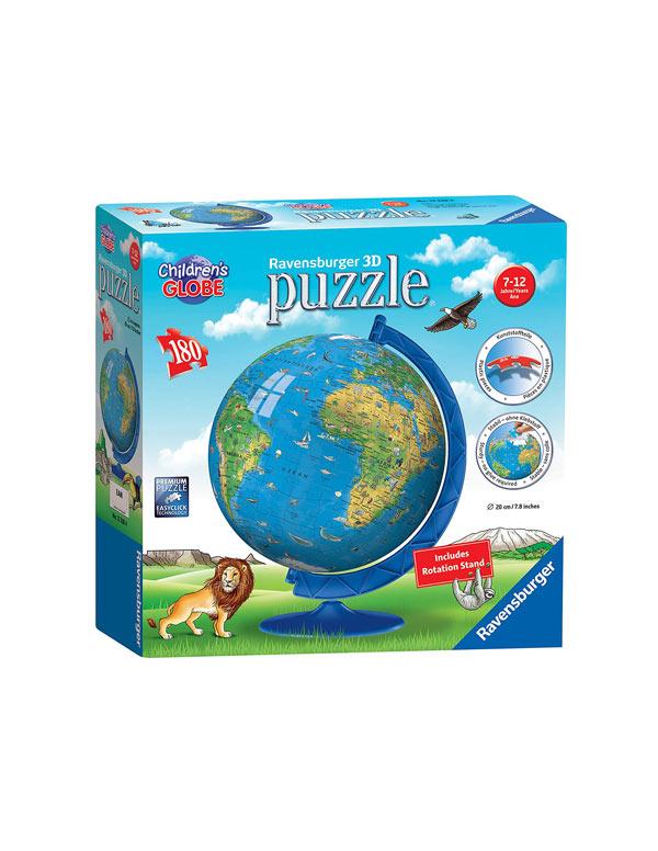 3d puzzle globe