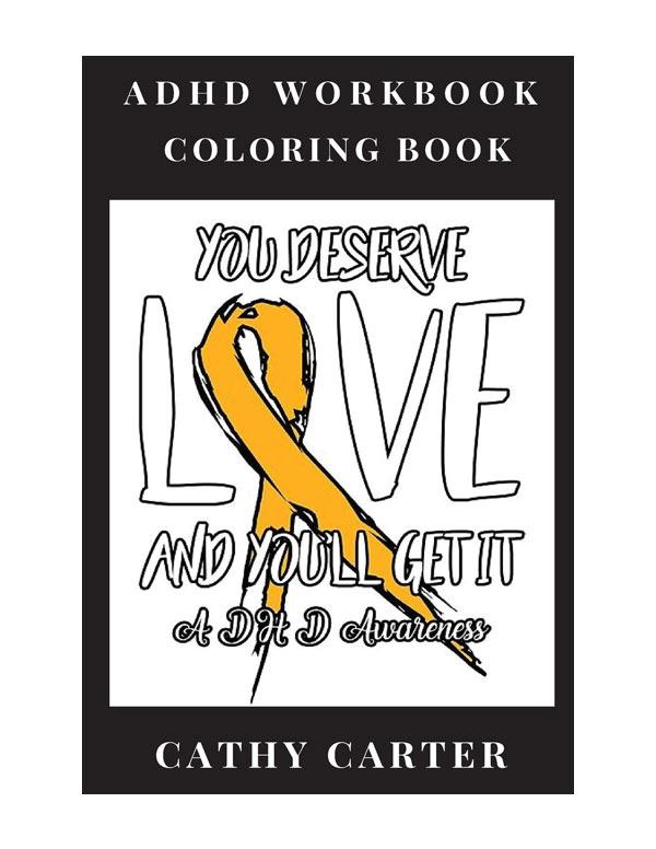 adhd coloring book