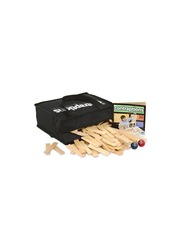 wooden plank set