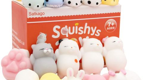 Squishy stress relief toys