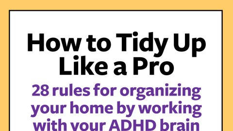 Free Guide: How to Tidy Up Your Home Like a Pro
