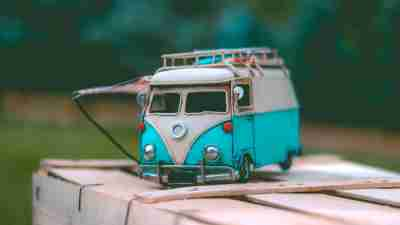 A model car to entertain a boy with ADHD during the summer