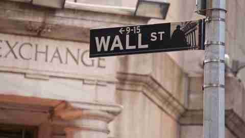 Wall Street is the financial district of New York City.