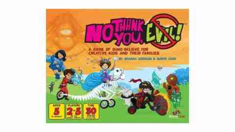 No Thank You, Evil! - Board Games for ADHD Kids