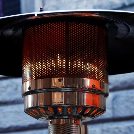outdoor heater hire gas electric
