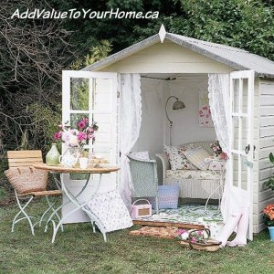 She Sheds !!!  Move over Man Caves