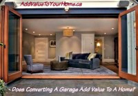 Does Converting A Garage Add Value To A Home?