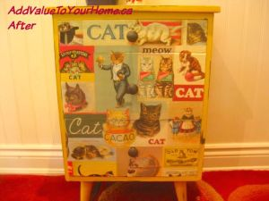 The Cat's Meow – Transforming an end table