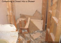 Converting a Closet into a Shower! – ORC Week 3