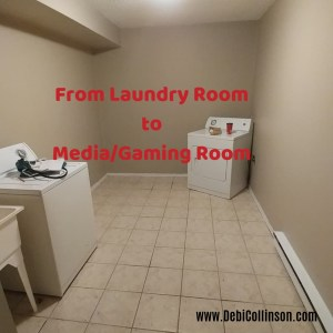 From Laundry Room to Media/Gaming Room