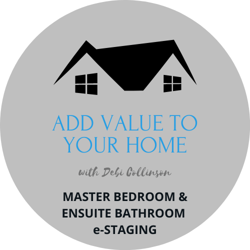 Master Bedroom & Ensuite e-Staging - Add Value to Your Home with Debi Collinson