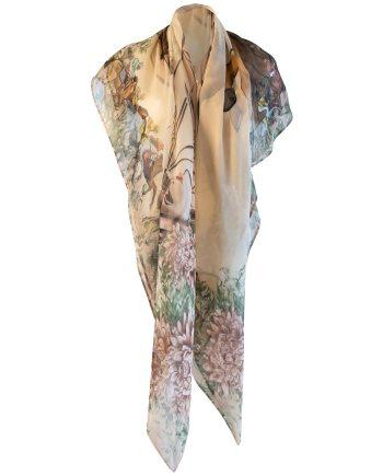 Ascot silk scarf