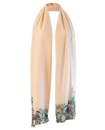 Ascot poly scarf