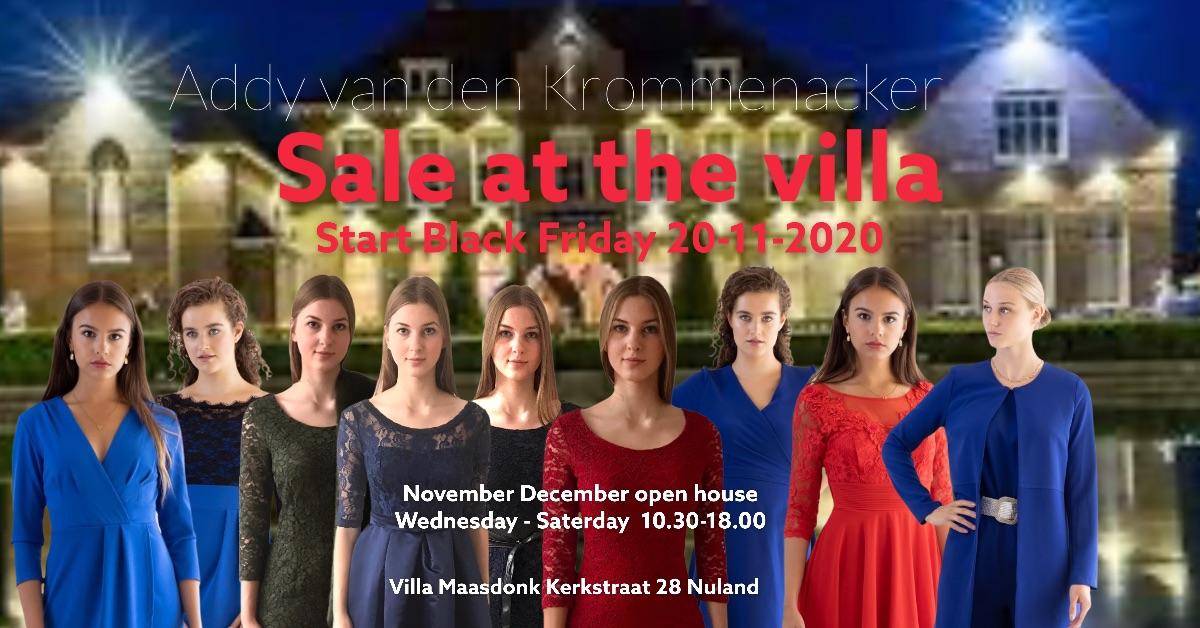 Sale at the Villa