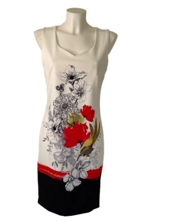 sleeveless flowerdress