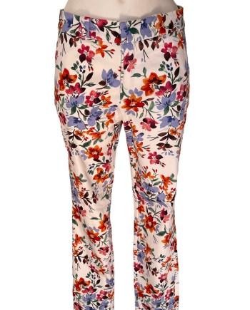 flower cotton pant