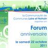 Anniversaire de la communauté de communes Loire et Nohain.