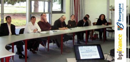 Les aides aux projets d'entreprises présentées au Club des Dirigeants.