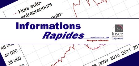 Hausse des créations d'entreprises en juillet 2014.