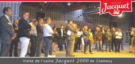 Visite de l'entreprise Jacquet 2000 de Clamecy
