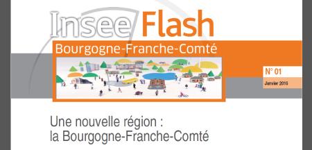 Premier numéro de Insee Flash Bourgogne-Franche-Comté !