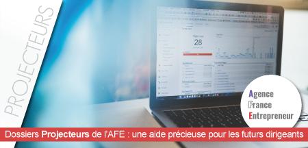 Découvrez les dossiers «Projecteurs» de l'AFE !