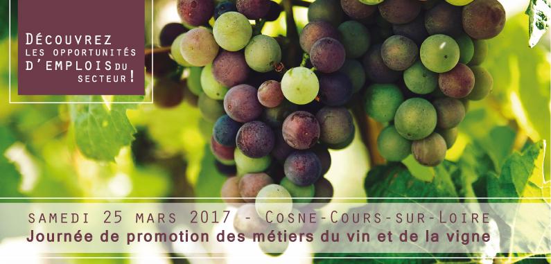 Journée de promotion des métiers du vin et de la vigne