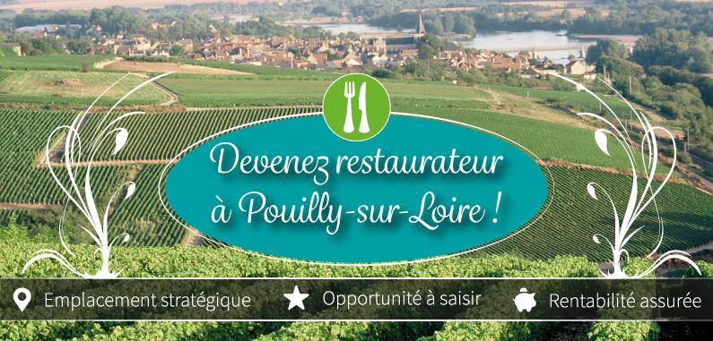 Devenez restaurateur à Pouilly-sur-Loire !