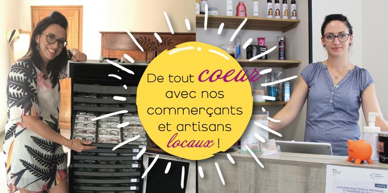 Commerçants et artisans locaux : à la rencontre de Marion Leroyer et Camille Raimbault !