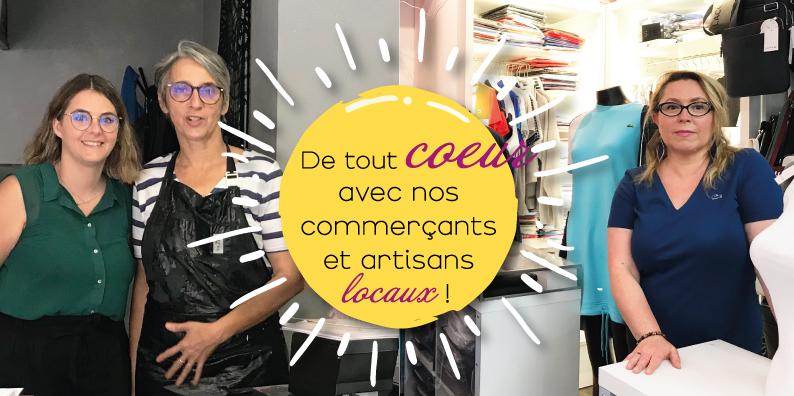 Commerçants et artisans locaux : à la rencontre de Lucie Ricard et Carine Paradot !