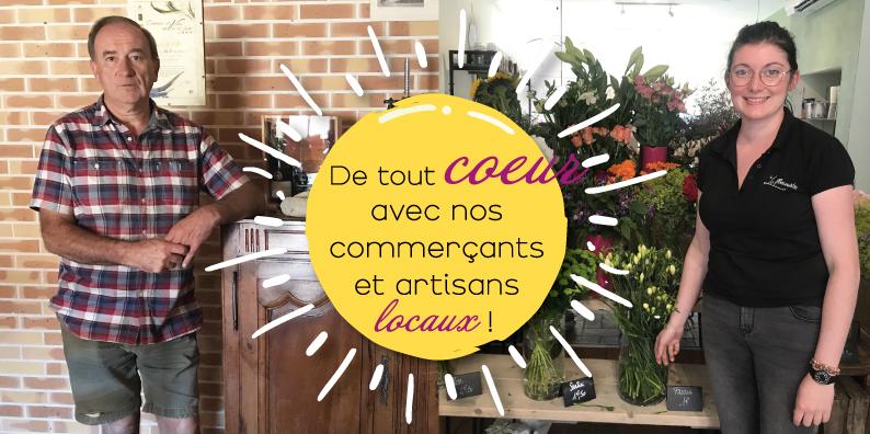 Commerçants et artisans locaux : à la rencontre de Gilles Langlois et Élodie Blanchet !