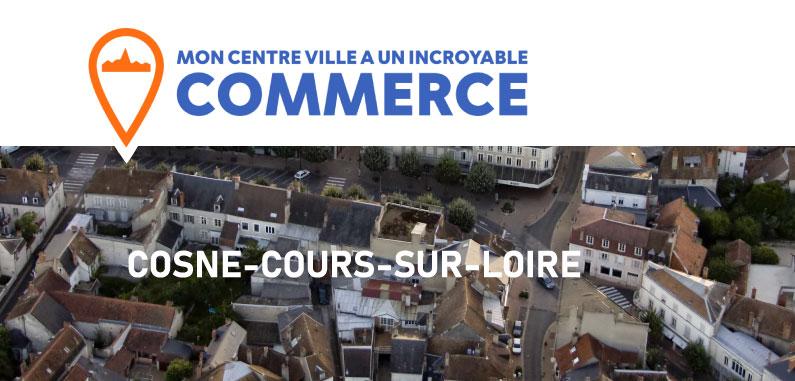 Le concours « mon centre-ville a un incroyable commerce » arrive à Cosne-Cours-sur-Loire !