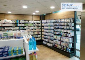 Aménagement d'une pharmacie par Adeco Breizh à Gruet