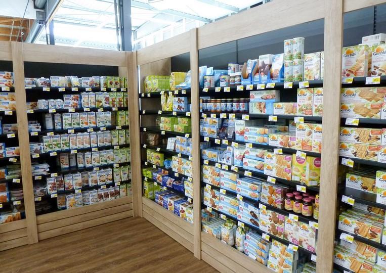 Rayon bio centre commercial Bretagne