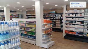 Aménagement d'une pharmacie par Adeco Breizh à Vannes