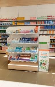Pharmacie rénovée par Adeco Breizh à Nantes