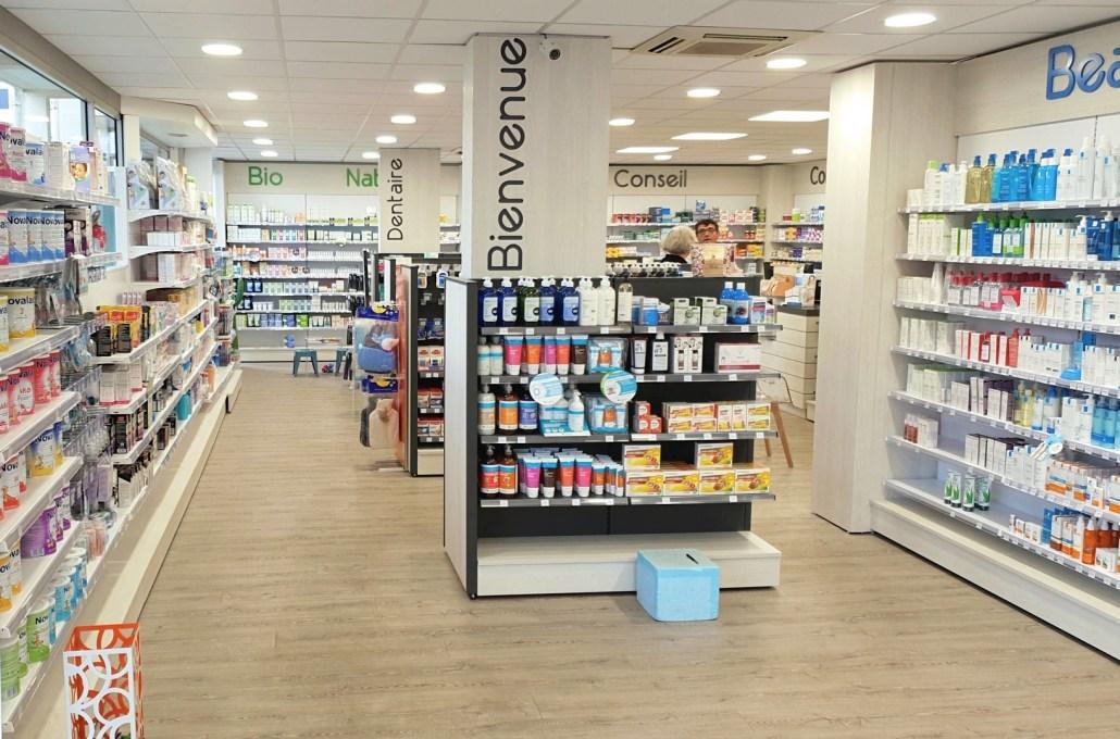 entrée pharmacie Bretagne