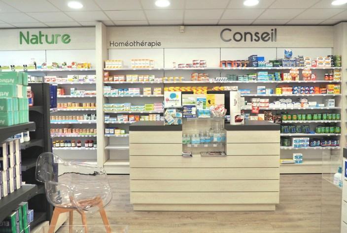 comptoir pharmacie Vannes