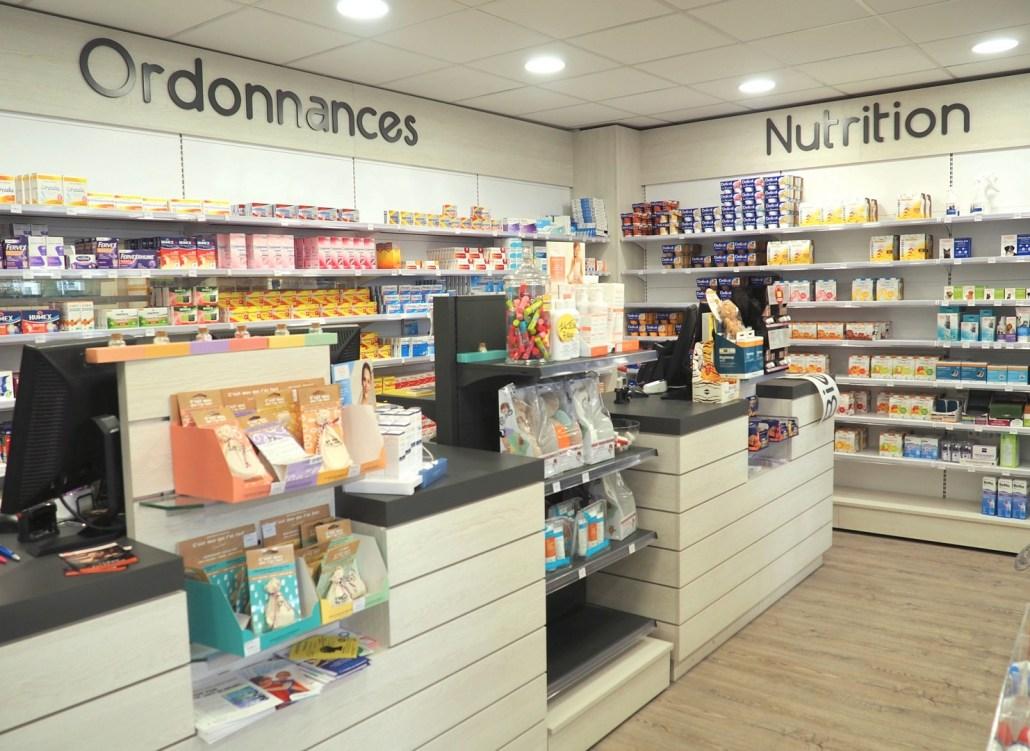 comptoir pharmacie Bretagne