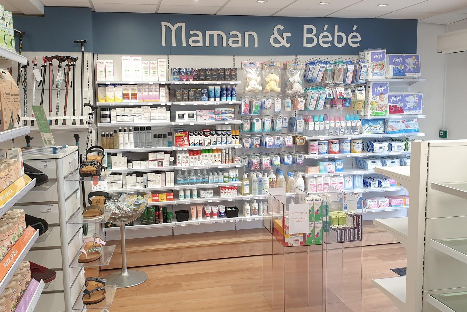Pharmacie Lanester example d'un agencement Adeco Breizh