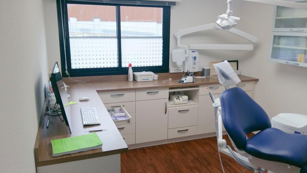 Aménagement d'un cabinet dentaire à Arradon