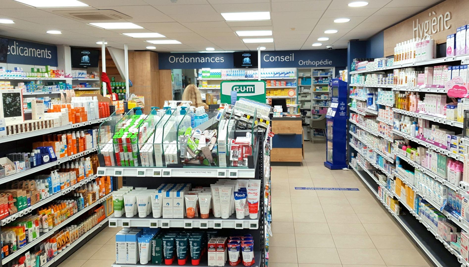 Aménagement d'une pharmacie à Le Bois Plage en Ré